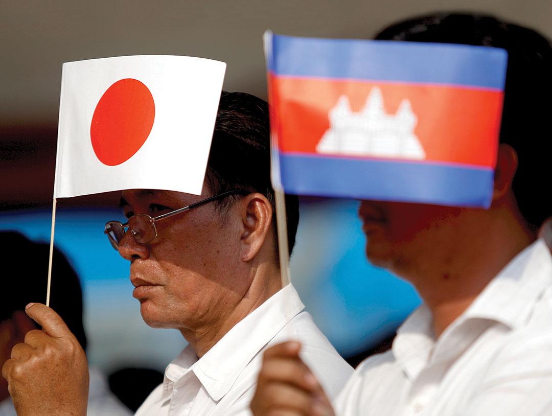 Япония с Камбоджей восстановила авиасообщение