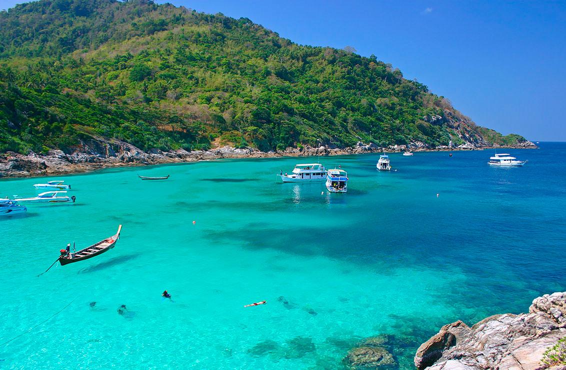 Тайланд пытается сохранить Ко Рача от вандалов и браконьеров