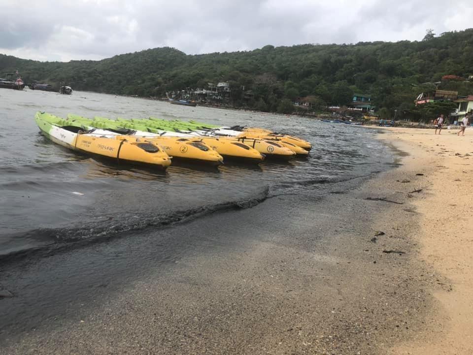 На Пхипхи в море сливались сточные воды