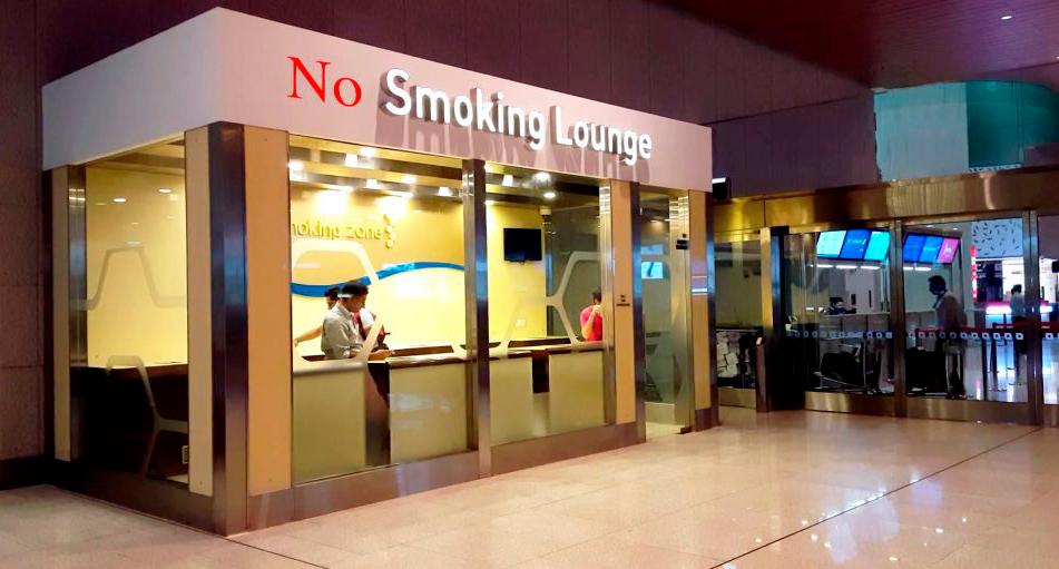 В аэропортах Таиланда не курят