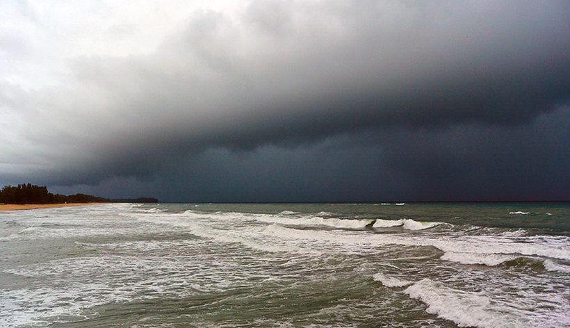 Ненастная погода на юге и востоке Таиланда