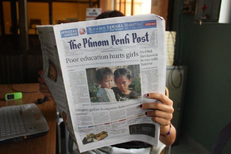 В Камбодже уволили руководство независимой газеты после публикации о ее продаже провластному бизнесмену
