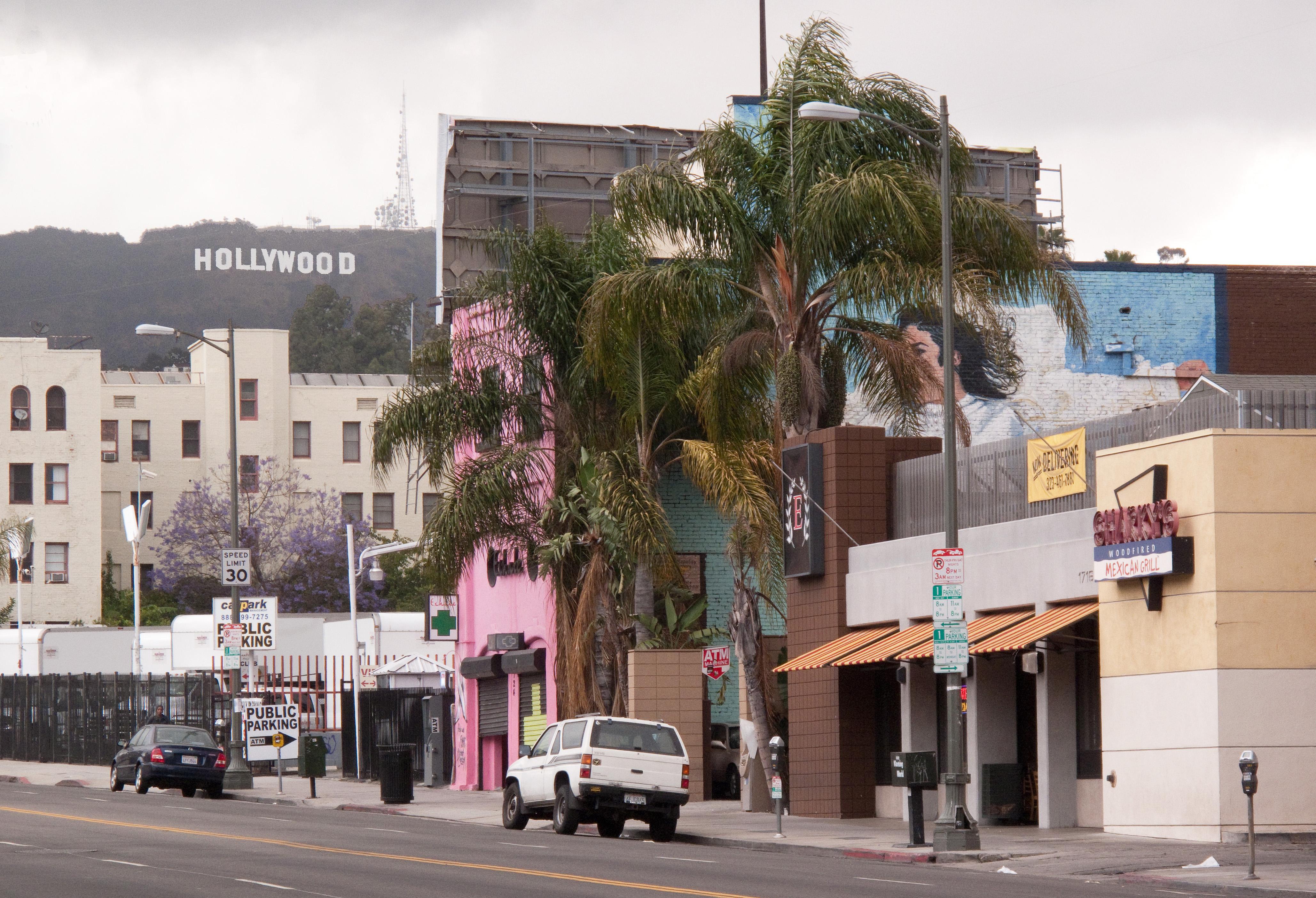 Оригинальные бургеры в Лос Анджелесе