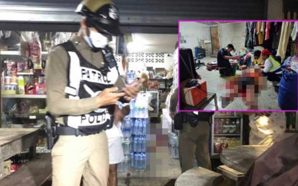 В Паттайе преступник напал на продавщицу из-за 4 тысяч батов