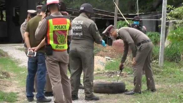 """В деревне Таиланде неожиданно нашли коробку со """"взрывным сюрпризом"""""""