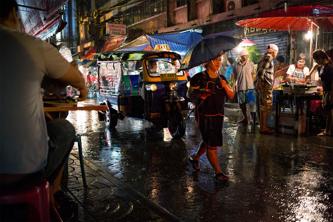 Сложные погодные условия по всему Таиланду с 21 по 26 октября