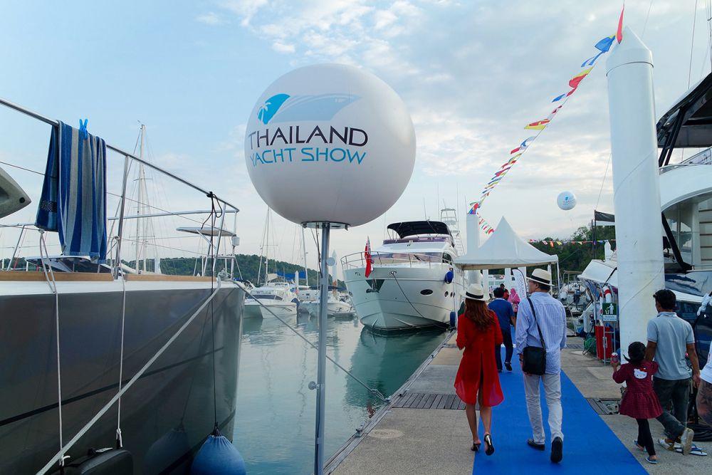 Аншлагом открылось Thailand Yacht Show and RendezVous