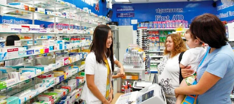 Об ассортименте и расценках на медикаменты в паттайских аптеках