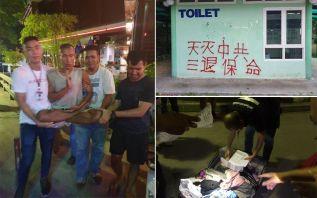 В Паттайе арестован китайский вандал, рисовавший политические лозунги