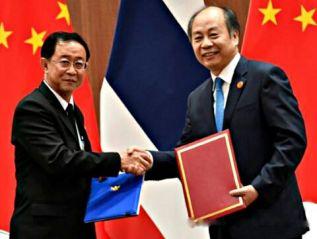 Таиланд заключил контракты с Китаем о проекте скоростной железной дороги