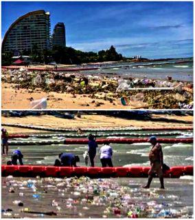Власти Паттайи отказались помогать отельерам в уборке пляжа