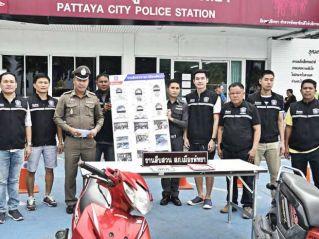 Полиция Паттайи накрыла банду малолетних угонщиков