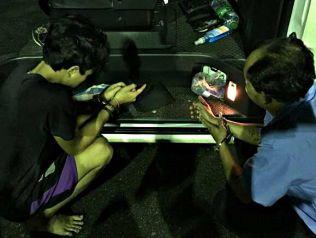 Полиция Пхукета нашла в пассажирском фургоне более 2 тысяч таблеток мета