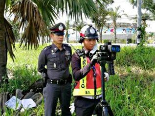 После 100 смертей на дорогах полиция Наджомтьена выставила постовых с радарами