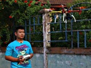 Школьник из Паттайи мечтает разработать беспилотник для транспортировки туристов
