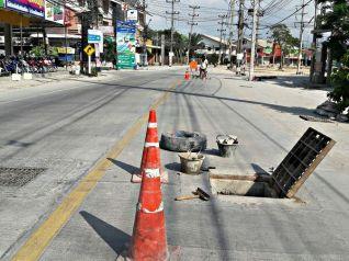 В Паттайе наконец-то доделали дорогу, которая почти 2 года находилась в ремонте