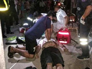 Туриста ударило током в порту Бали-Хай