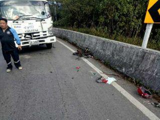 """""""Железный человек на велосипеде"""" разбился при столкновении с грузовиком"""