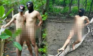 Тайцев шокировали фотографии голых геев на природе