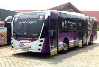 В Паттайе прошли испытания троллейбусов