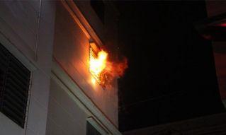 В Паттайе случился пожар в одном из кондо