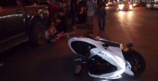 Китайский турист попал в аварию в Паттайе