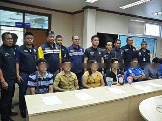 В Паттайе провели облаву на нелегалов, 11 человек арестовано