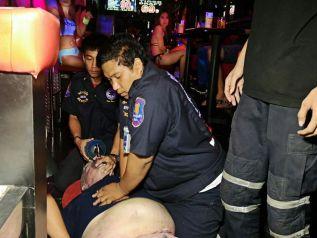 У иностранного туриста случился сердечный приступ в одном из Go-Go баров в Паттайе