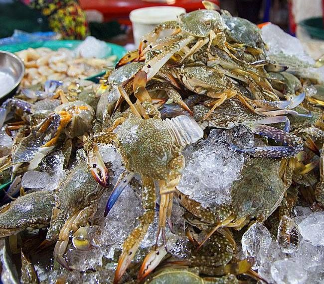 Рыбный Рынок Банграк (Bang Rak) на Самуи