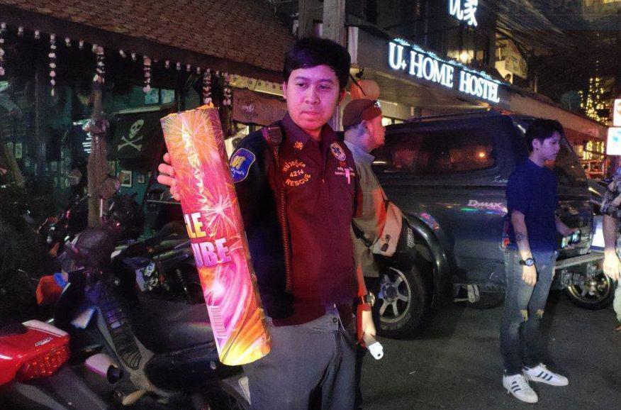 Полиция Паттайи предостерегает от использования фейерверков на китайский Новый год