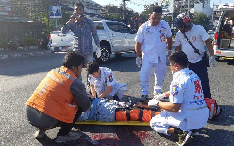 Турист потерял ногу в Таиланде
