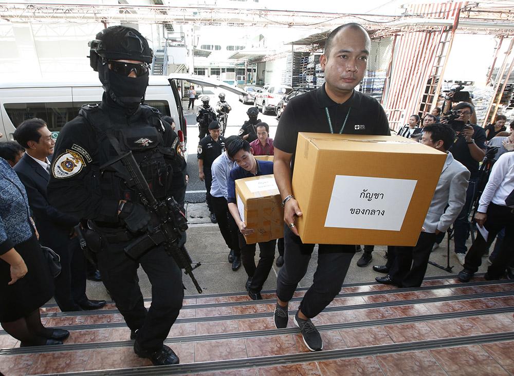 Полиция Таиланда передала больше 100 кг конфискованной марихуаны на медицинские исследования