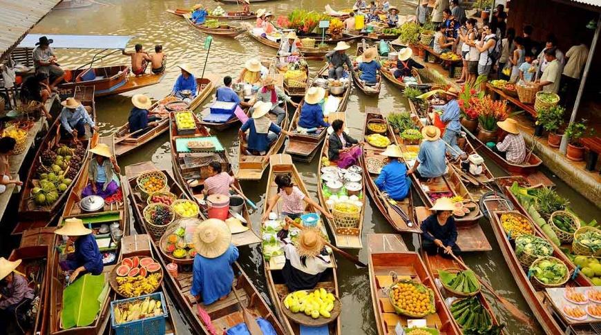 Ночные, дневные, плавучие, экзотические: 5 рынков в Паттайе, где будет интересно побывать туристу