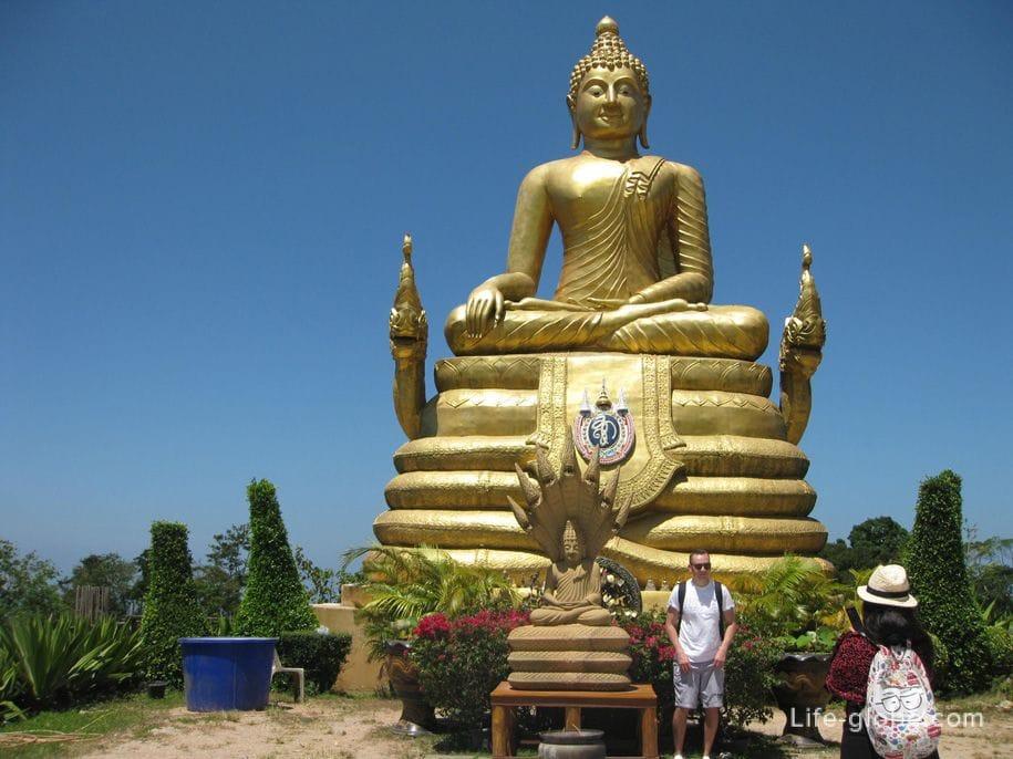 Большой Будда (Big Buddha) на Пхукете. Пеший маршрут к Биг Будде!