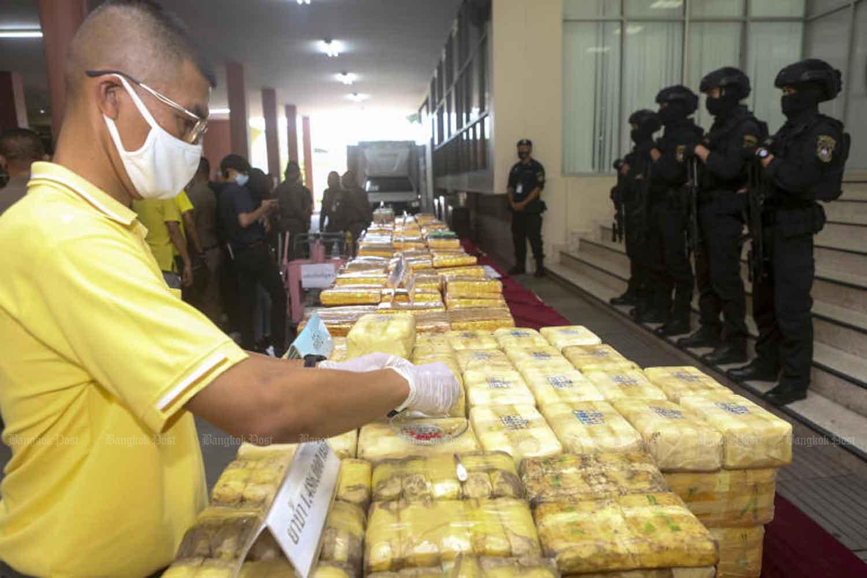 Полиция Таиланда изъяла 457 мешков кетамина