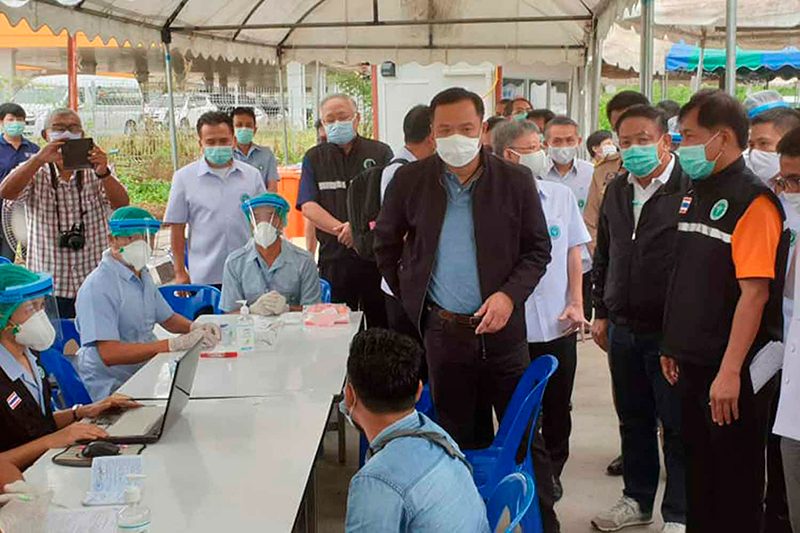 Контроль над коронавирусом в Таиланде