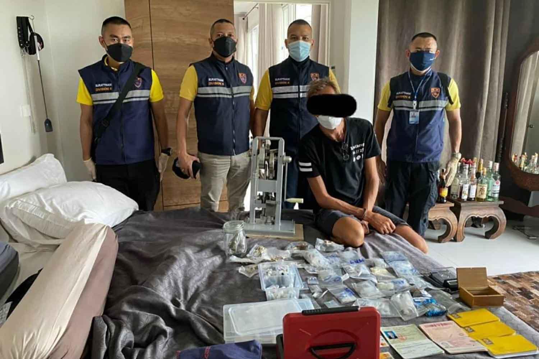 В Таиланде задержали россиянина по обвинению в хранении наркотиков для продажи