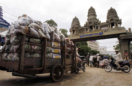 Как улететь на отдых в  Камбоджу