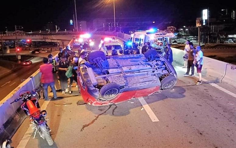 В Паттайе в результате аварии пострадало пятеро подростков