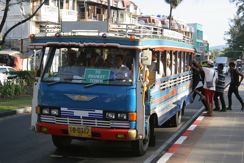 О маршрутах пхукетских автобусов или о том, как чувствовать себя человеком без байка