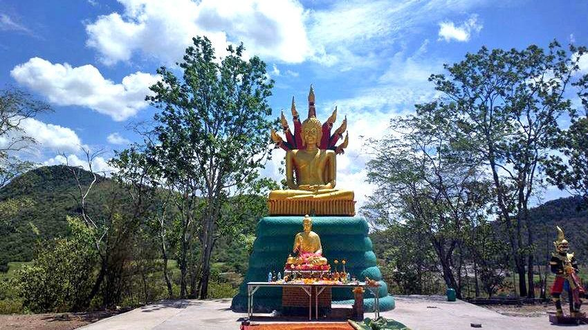 Тайская гора привлекает любителей НЛО