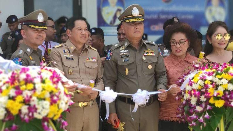 Туристическая полиция официально открыла сервисный центр на пляже Карон
