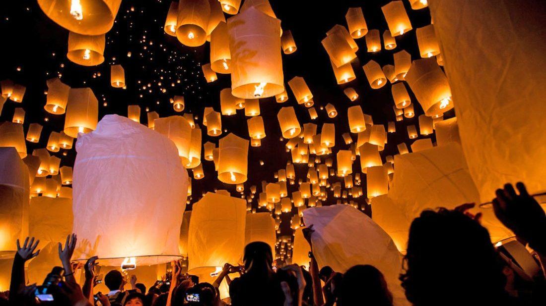 В Таиланде отменили два фестиваля бумажных фонариков