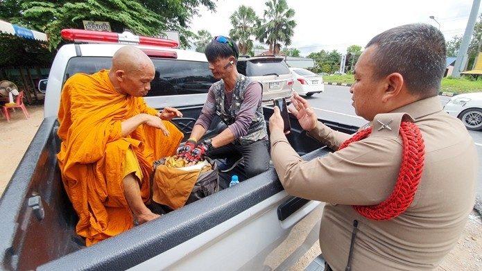 В Таиланде задержали лже-монаха
