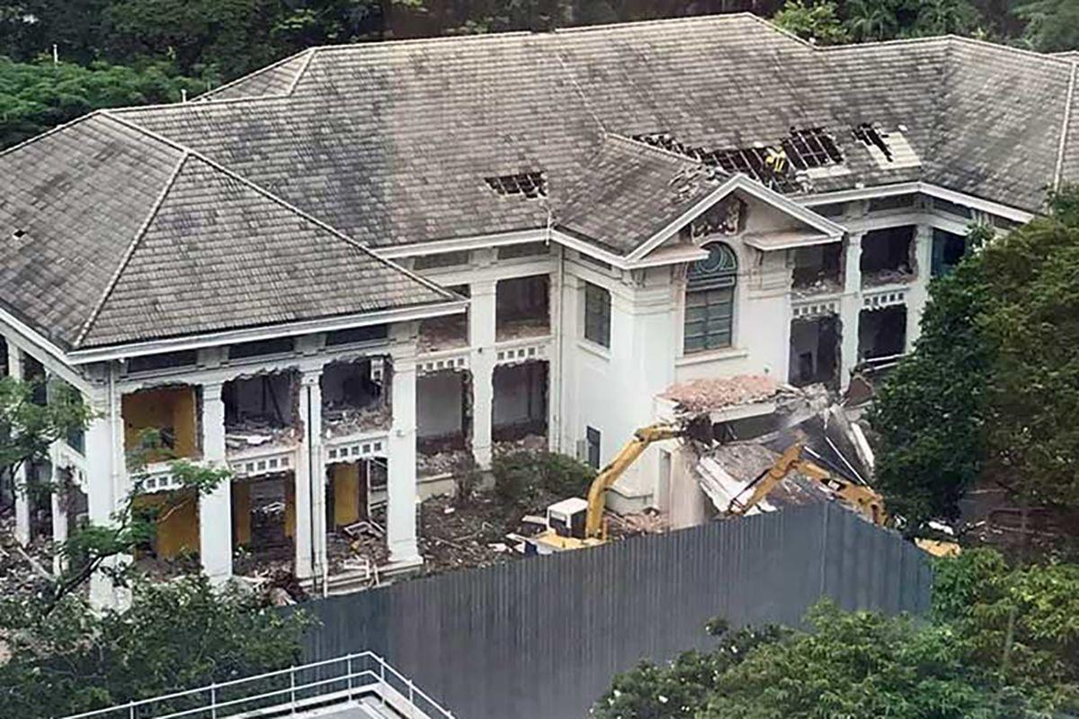 В Бангкоке снесли историческое здание для строительства торгового центра