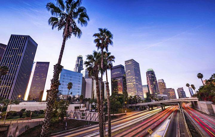 День рождения в Лос-Анджелесе