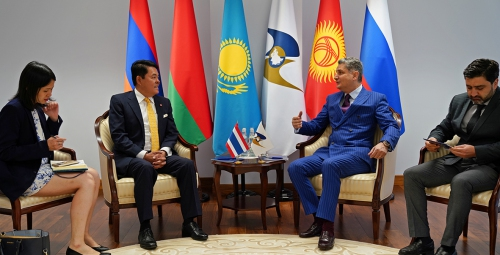ЕАЭС и Таиланд развивают сотрудничество