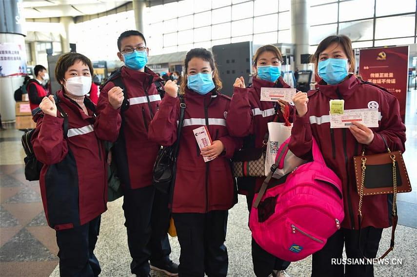 Китай отправил медицинскую бригаду в Камбоджу