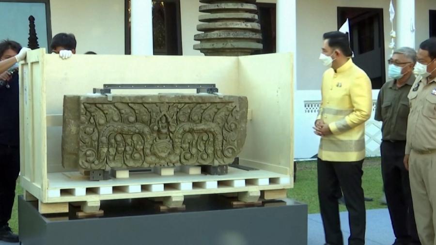 В Таиланд вернули украденные из страны исторические артефакты