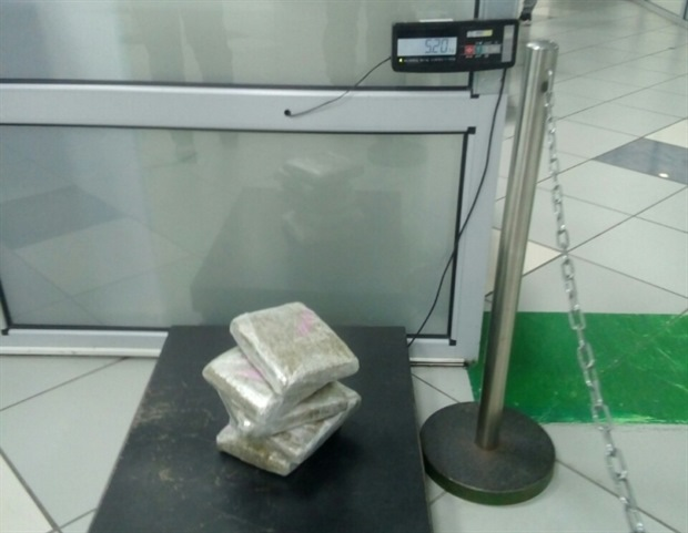 Турист пытался ввезти из Таиланда в Красноярск брикеты с марихуаной